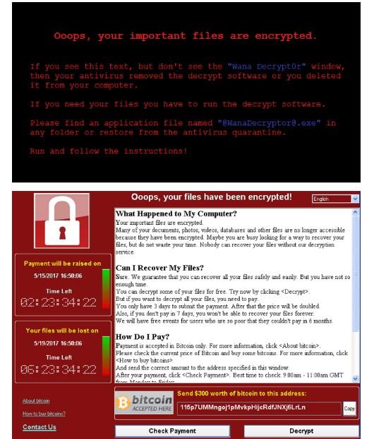 WannaCrypt primjer, kako riješiti